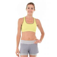 Erica Evercool Sports Bra-XL-Yellow