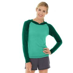 Ariel Roll Sleeve Sweatshirt-XL-Green