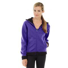 Circe Hooded Ice Fleece-XL-Purple