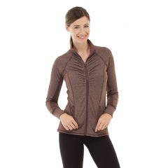 Riona Full Zip Jacket-XL-Brown