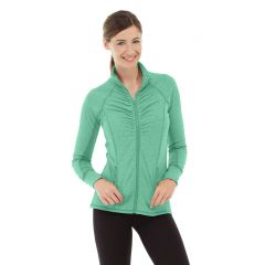 Riona Full Zip Jacket-XL-Green