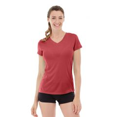 Gabrielle Micro Sleeve Top-XL-Red