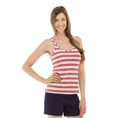 Nona Fitness Tank-XL-Red