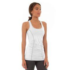 Leah Yoga Top-XL-White